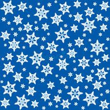 Hintergrundmuster Blau Schneeflocken Hintergrund Muster Blau Vektor Abbildung Bild