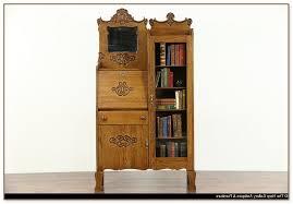 Drop Front Secretary Desk by Drop Front Secretary Desk With Bookcase