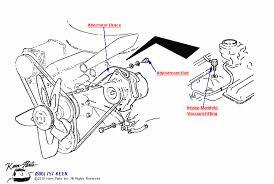 keen corvette c3 corvette engine vacuum fitting parts parts