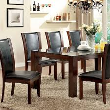 cherry kitchen table set astoria i dark cherry dining table set shop for affordable home