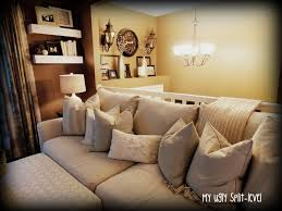 Decorating Split Level Homes My Ugly Split Level Diy Living Room Shelves Home Pinterest