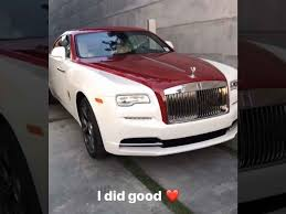rolls royce wraith modified cardi b buys offset new whip and shows off her spacious trunk