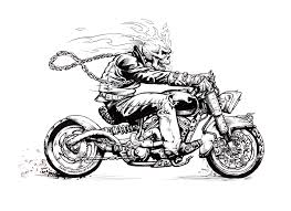 ghost rider coloring pages ghost rider by rangerscott on deviantart