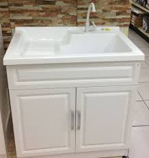 Laundry Room Cabinets With Sinks Berkshire Laundry Sink Vanity By Foremost Contemporary With Regard