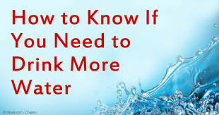 Does Lemon Water Make You Go To The Bathroom How Do You Know If You U0027re Drinking Enough Water