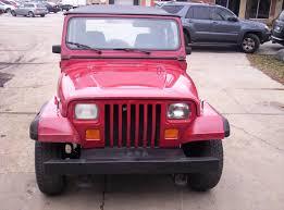 pink jeep 2 door 1987 jeep wrangler yj 4x4 sport utility 2 door 4 2l inline 6 stick