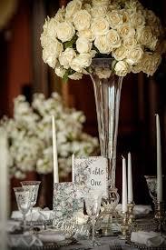 Footed Glass Vase Elegant Glass Footed Vase 80cm Nerissa Eve Weddings