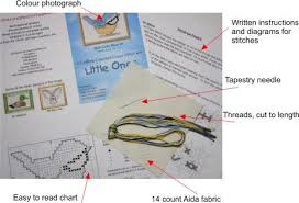 beginner cross stitch kits what to look for