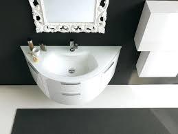 round bathroom vanity cabinets curved bathroom furniture happysmart me