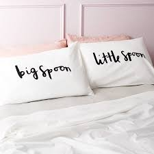 big spoon little spoon u0027 pillow cases by old english company