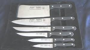 rostfrei kitchen knives 6 pc berghoff profiline knife set rostfrei edelstal knives sg