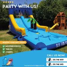 table rentals san antonio s party rentals get quote bounce house rentals san