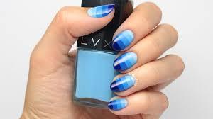 tutorial block ombre nail art
