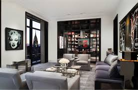 Trump S Apartment Trump World Tower Modern Penthouse Idesignarch Interior Design