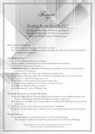 Wedding Planner Prices Wedding Buffet Prices Per Head Tbrb Info