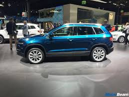 2018 skoda karoq video first look motorbeam com