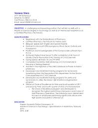 registered certified pharmacy technician resume