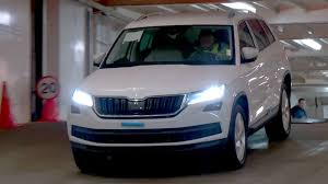 skoda kodiaq 2017 new škoda kodiaq 2017 white youtube