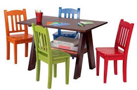 Children S Dining Table Exquisite Kid S Table And Chairs Refreshed Playrooms Children