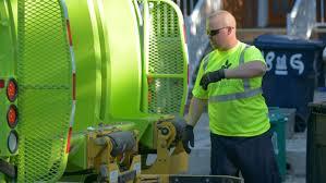 city of kitchener garbage collection garbage trucks start collecting west of yonge toronto