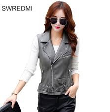 leather motorcycle vest compare prices on leather motorcycle vests women online shopping