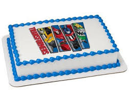 transformers rescue bots 1 edible cake or cupcake topper edible transformers cake etsy