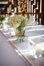 Wedding Centerpieces Using Mason Jars by 488 Best Wedding Centerpiece Images On Pinterest Marriage