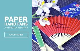 held paper fans custom printed fans wholesale discounts inkhead