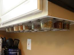 under cabinet spice rack magnetic under cabinet spice rack