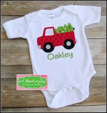 boys christmas shirt toddler christmas shirt truck and tree