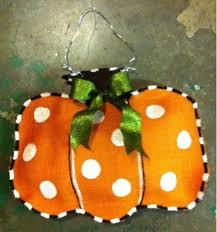 running on story time pumpkin burlap door hanger