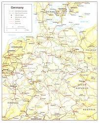 Maps Of Germany by Map Of Germany Beautiful Map Countries Surrounding Germany