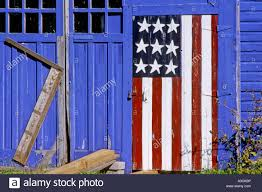 How To Paint American Flag American Flag Painted On Barn Door Usa Wisconsin Kewaunee