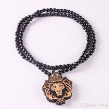 rosary necklace wholesale mix styles hip hop goodwood rosary necklaces lion tiger