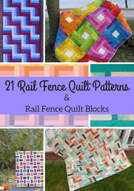 21 rail fence quilt patterns u0026 rail fence quilt blocks