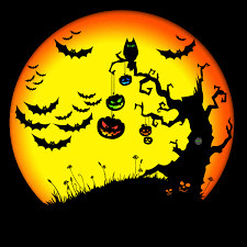 halloween trees jude plauche com my portfolio doodling image gallery halloween