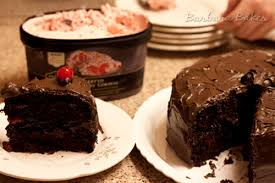 old fashioned chocolate cake with maraschino filling barbara bakes