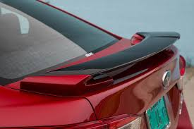 subaru roof spoiler mileti industries 2017 subaru impreza sedan and hatchback first
