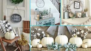 diy rustic shabby chic style fall decor ideas home decor