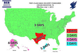 usps class shipping map delivery standards class mail bebtexas