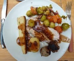 cuisine anglaise traditionnelle que mangent les anglais à noël la famille alins en vadrouille