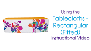 Fitted Oval Vinyl Tablecloths Fitted Tablecloths Rectangular Instructional Video Youtube
