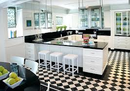 black and white kitchen floor ideas black and white kitchen floor glassnyc co