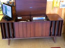 mid century cabinet console stereos with record player page 2