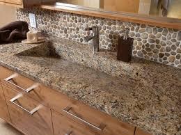 rock kitchen backsplash bathroom backsplashes backsplash tile river rocks backsplash