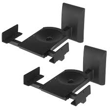 How To Mount Bookshelf Speakers Pair Of Bookshelf Speaker Wall Mount Brackets Wbsm201 Selby