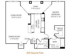 Georgetown Floor Plan 1 Bed 1 Bath Apartment In Orlando Fl Heritage On Millenia