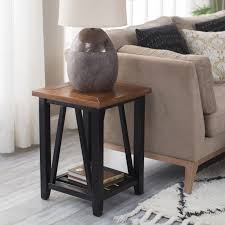 End Table With Charging Station by White End Table On Hayneedle White Side Tables