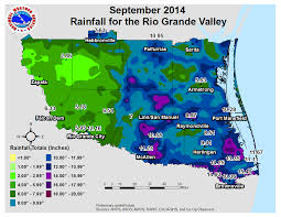 Mexico Precipitation Map by September 2014 In The Rio Grande Valley Wet Was The Word Top 15