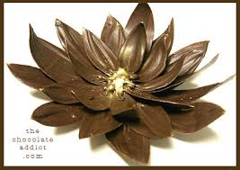 chocolate flowers chocolate flower cake decoration make a flower to devour